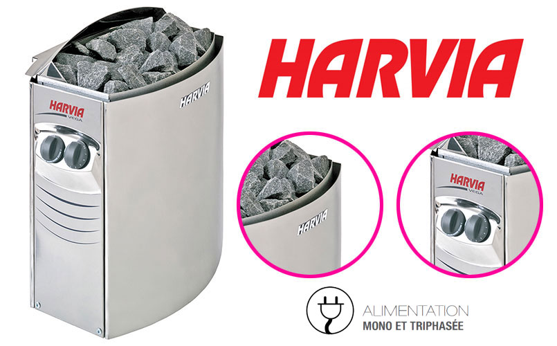 Poêle électrique Harvia Vega