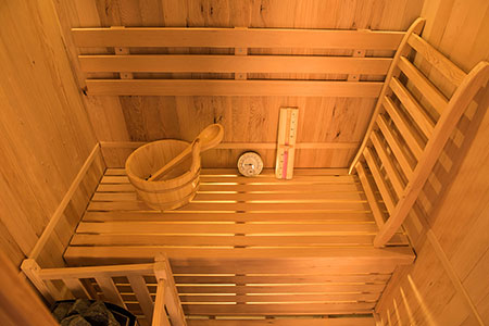 Intérieur Sauna à vapeur Zen