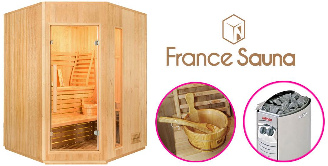 Sauna traditionnel vapeur Zen 3-4 places
