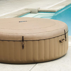 Couvercle Spa Gonflable spa 4 places bulles Intex PureSpa Sahara