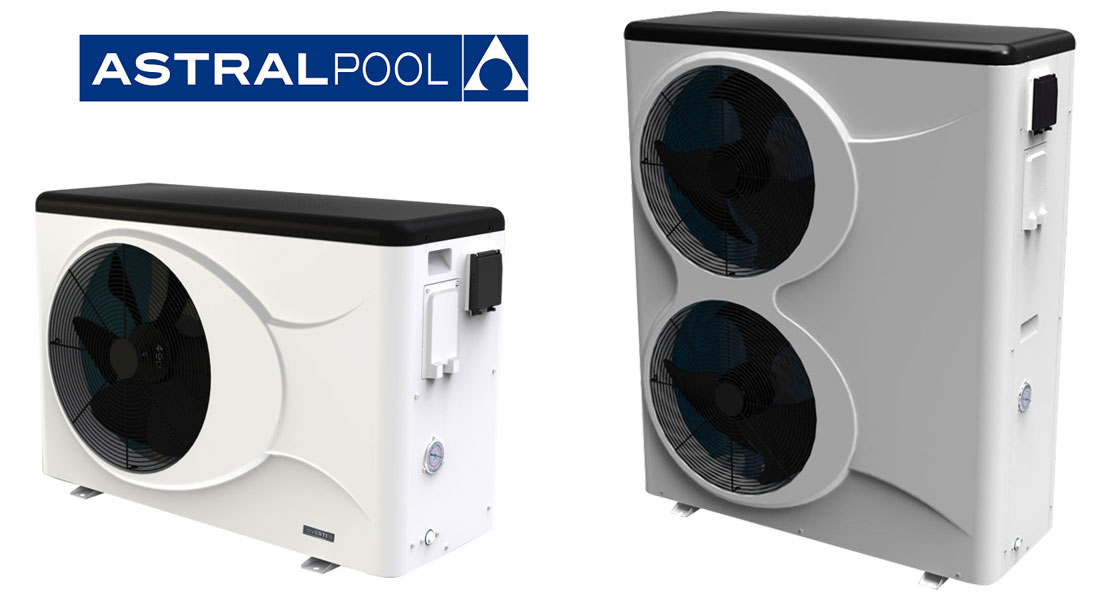 Pompe à chaleur piscine Astral Evo Top Inverter