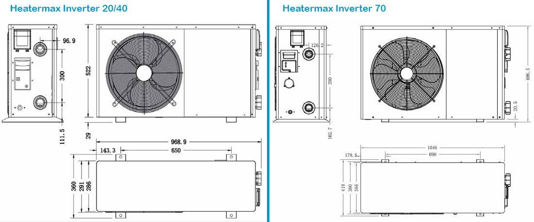 pompe chaleur heatermax inverter r32 ubbink pac ubbink. Black Bedroom Furniture Sets. Home Design Ideas