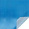 Bâche à  bulles Bleu - Argent