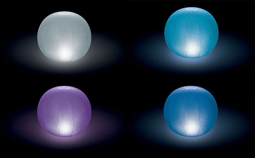 Globe LED flottant Intex pour piscine ou spa