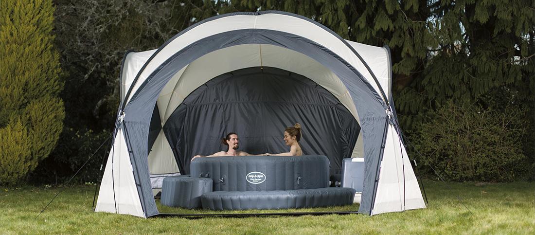 Dome Et Abri De Protection Special Spa Bestway