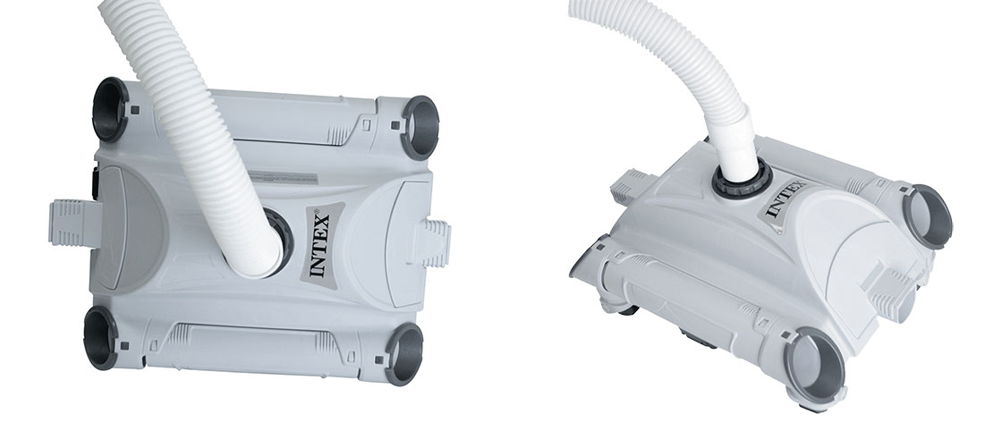 Robot de piscine intex for Brancher un aspirateur de piscine