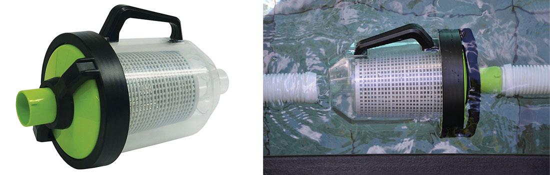 Pi ge feuilles pour robot piscine hydraulique for Balai aspirateur piscine avec filtre