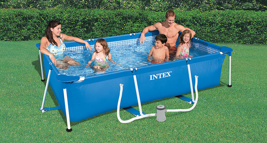 Piscine tubulaire Metal Frame 3,00 x 2,00 x h0,75m