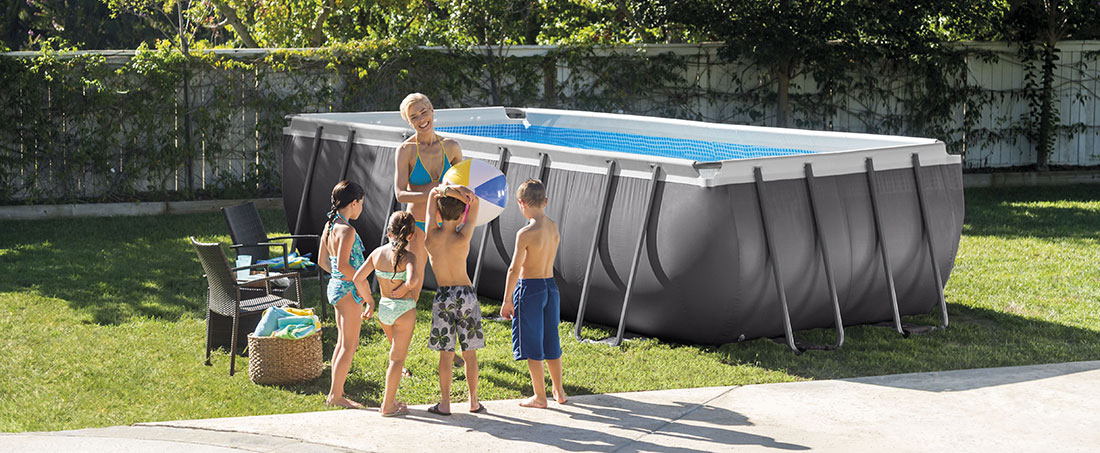 Piscine tubulaire Ultra Siler 5,49 x 2,74 x h1,32m