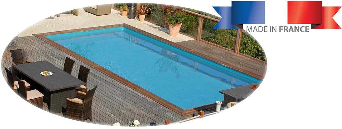 Piscine bois sunbay braga 8 00 x 4 00 x h1 46m for Installation piscine bois