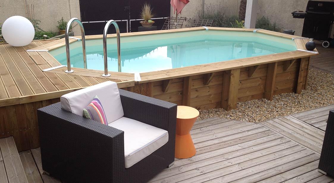 piscine Lagon ubbink 5,50x4,00xh1,20m