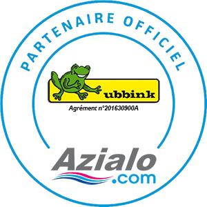 Azialo partenaire officiel Ubbink