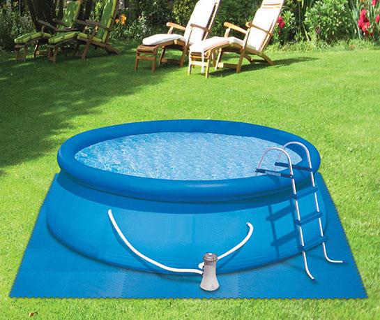 dalle de protection de sol pour piscine et jardin. Black Bedroom Furniture Sets. Home Design Ideas